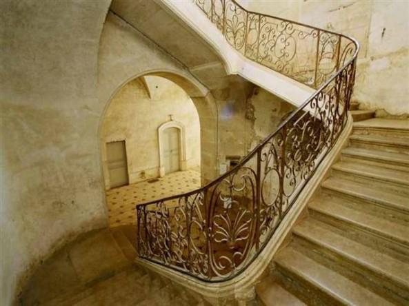 Grand escalier de Moutiers